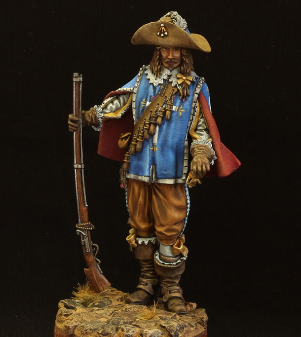 Figures: Musketeer. France, 17th cent.