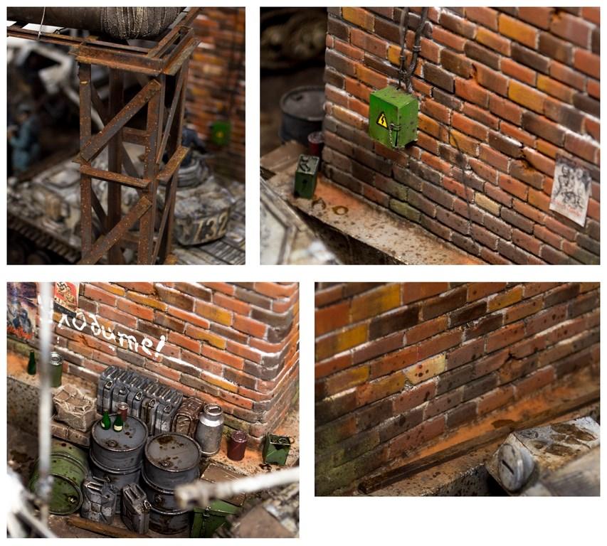 Dioramas and Vignettes: Totenkopf, Kharkov'43, photo #10
