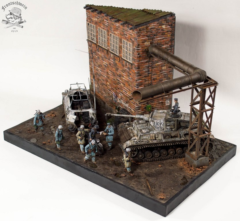 Dioramas and Vignettes: Totenkopf, Kharkov'43, photo #3