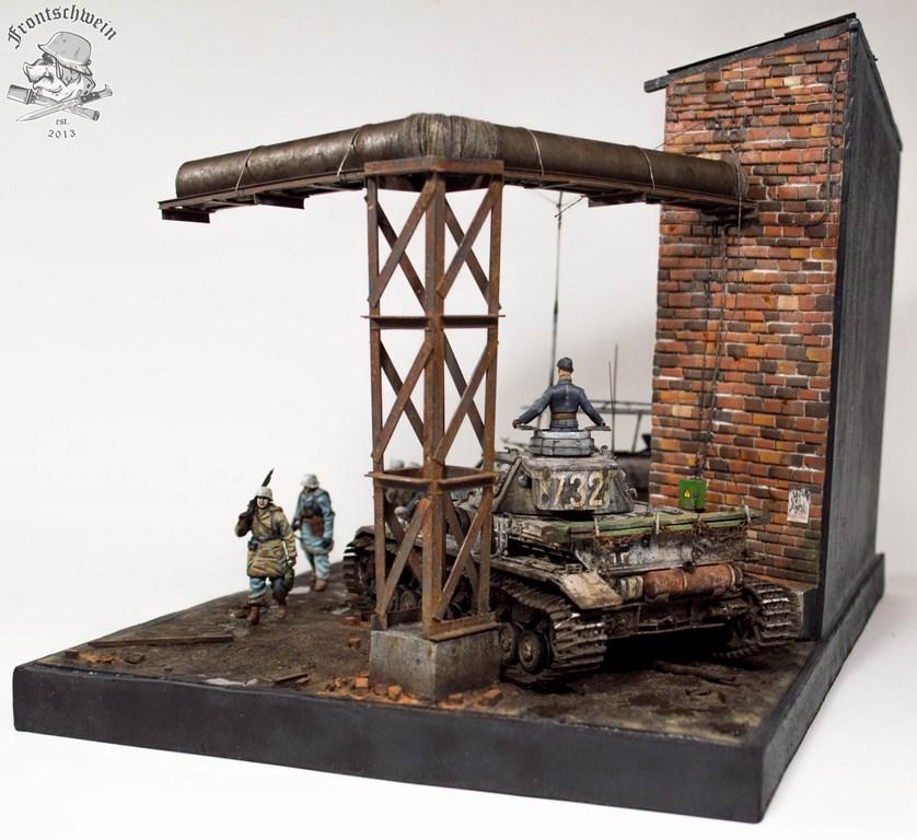 Dioramas and Vignettes: Totenkopf, Kharkov'43, photo #5