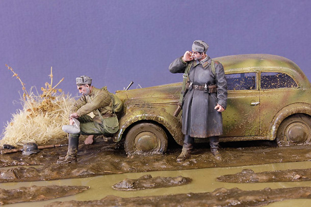 Dioramas and Vignettes: We haven't a rest for a long time...