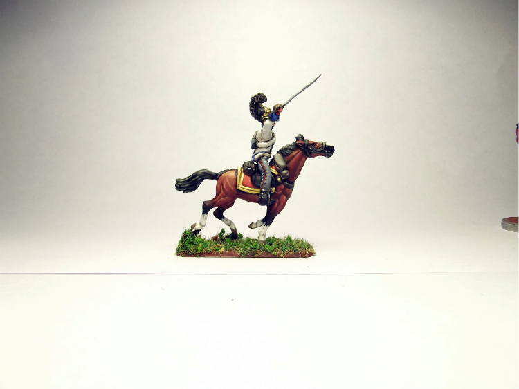 Figures: Prussian cuirassiers, 1813-15, photo #10