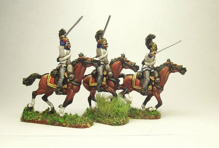 Figures: Prussian cuirassiers, 1813-15, photo #2