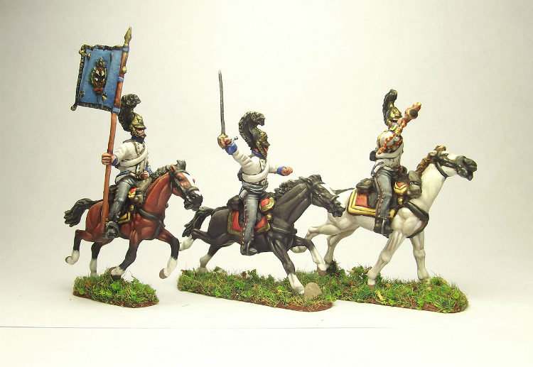 Figures: Prussian cuirassiers, 1813-15, photo #3