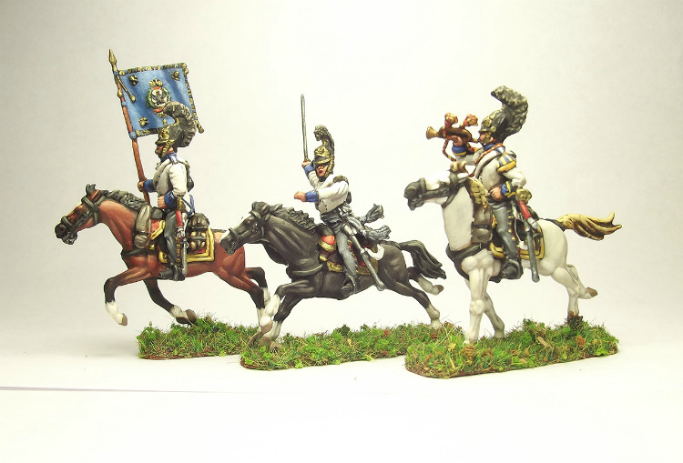 Figures: Prussian cuirassiers, 1813-15, photo #4