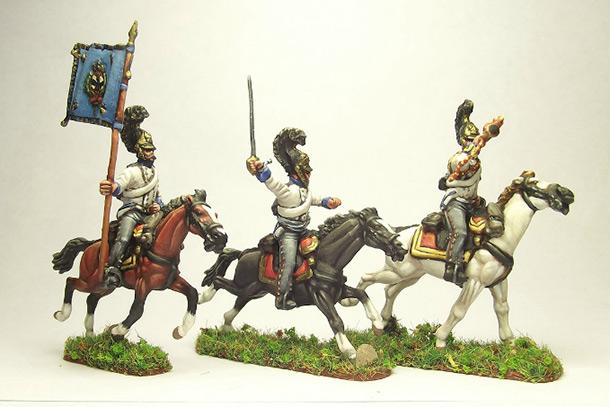 Figures: Prussian cuirassiers, 1813-15