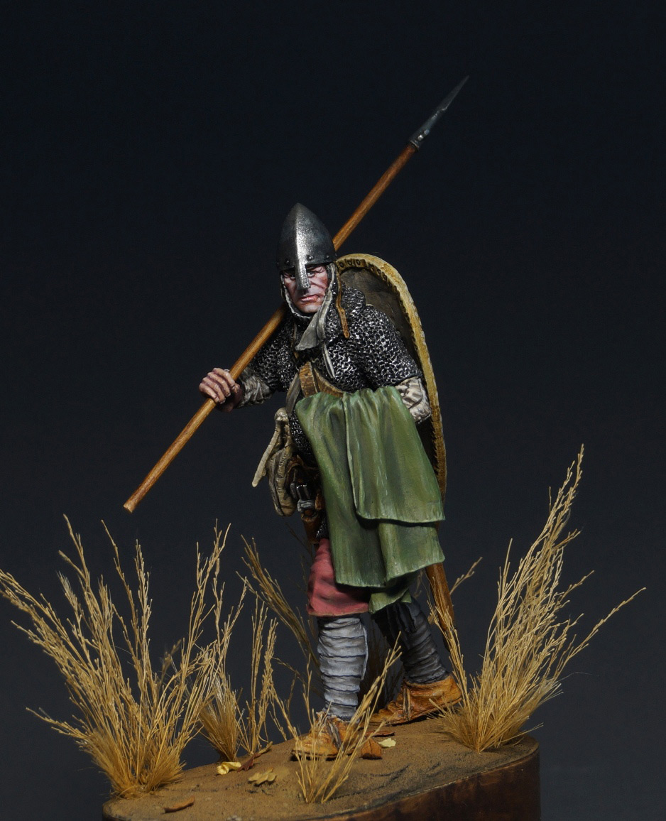Figures: Norman warrior, photo #12