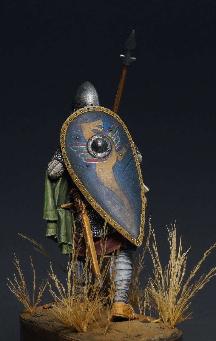 Figures: Norman warrior, photo #8