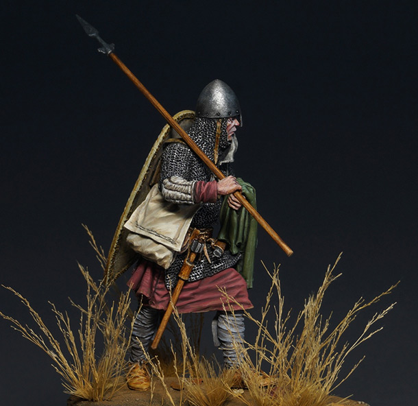 Figures: Norman warrior