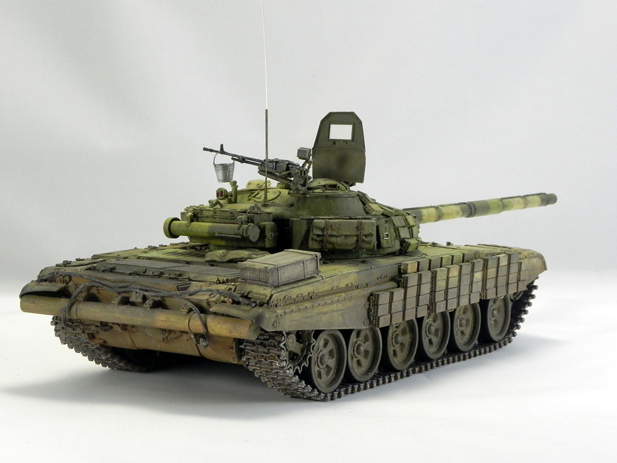 Dioramas and Vignettes: T-72B1, 276th regt., Chechnya, 1995, photo #14