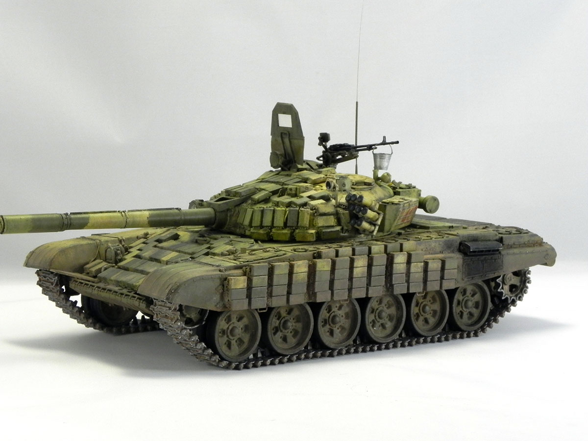 Dioramas and Vignettes: T-72B1, 276th regt., Chechnya, 1995, photo #16