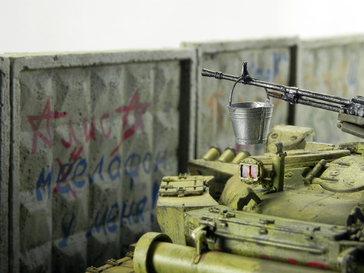 Dioramas and Vignettes: T-72B1, 276th regt., Chechnya, 1995, photo #6
