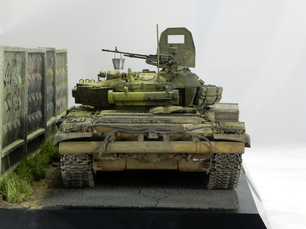 Dioramas and Vignettes: T-72B1, 276th regt., Chechnya, 1995, photo #7