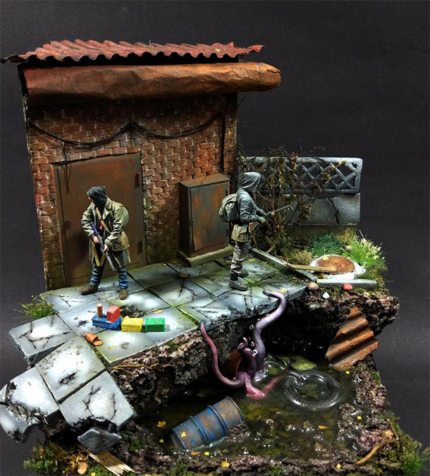 Dioramas and Vignettes: New undiscovered world