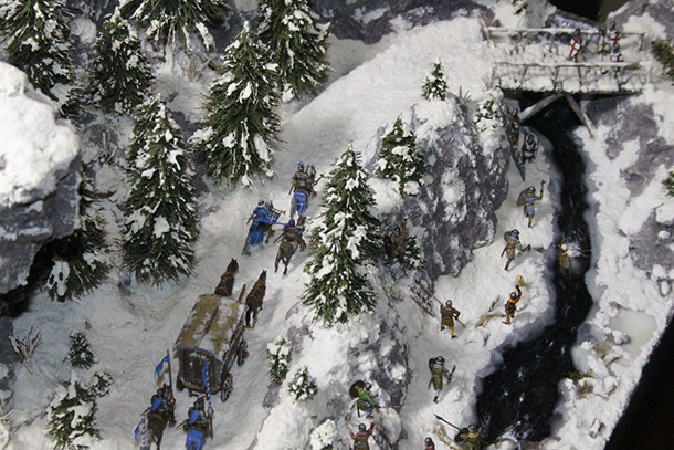 Dioramas and Vignettes: The Ambush
