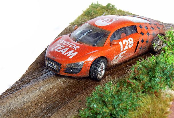 Dioramas and Vignettes: Audi R8