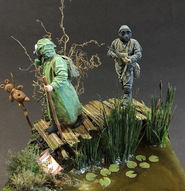 Dioramas and Vignettes: In the swamp