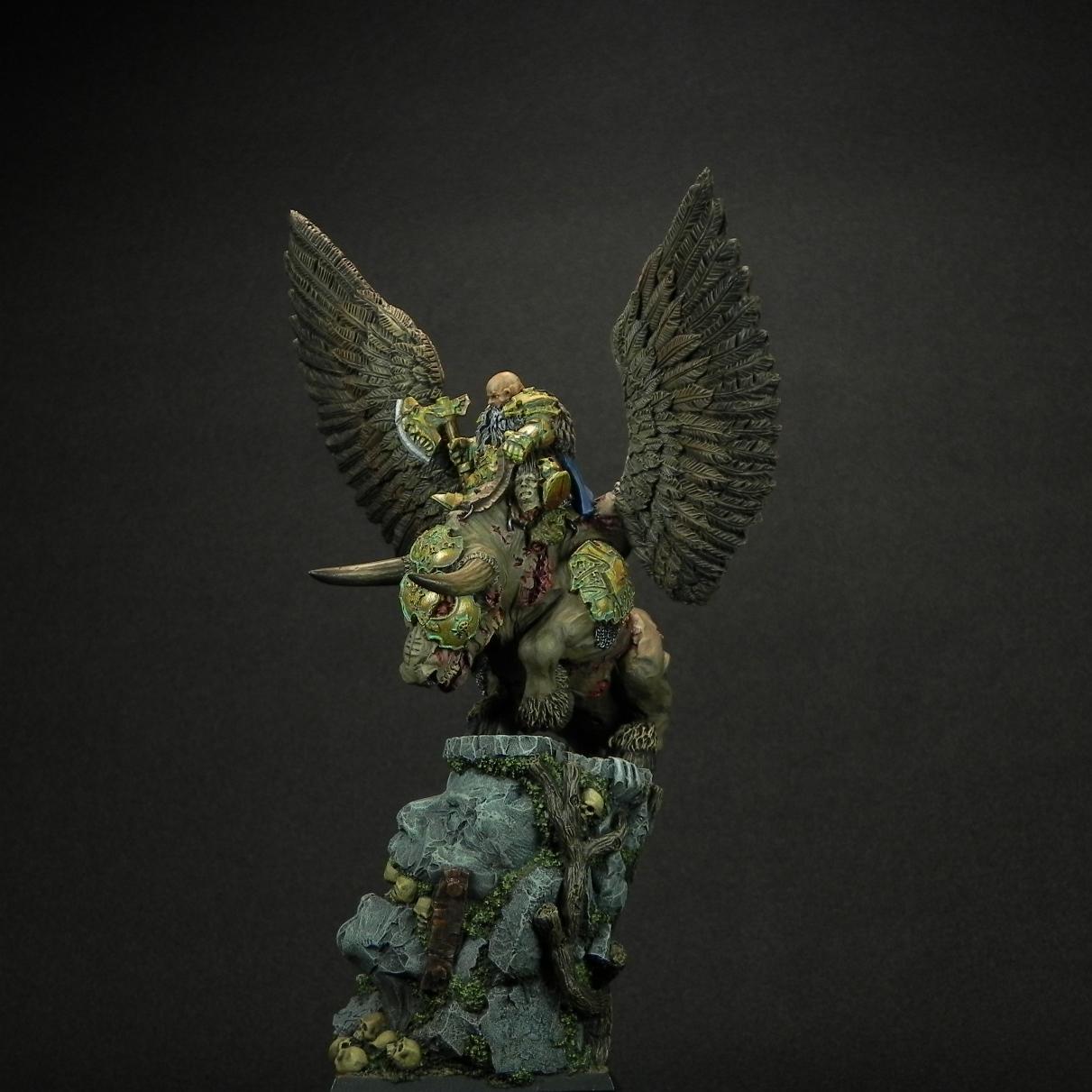Miscellaneous: Dwarf general on war bull, photo #5