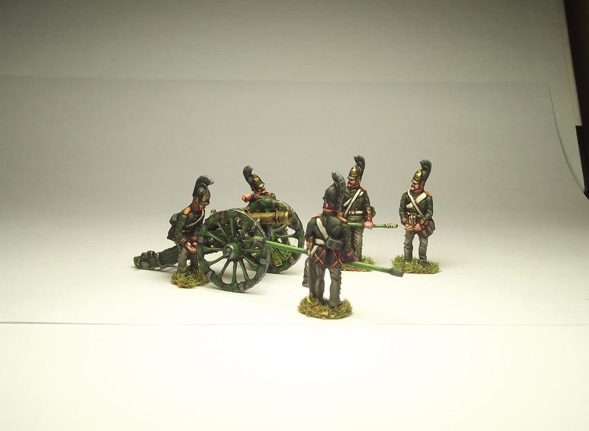 Figures: Russian artillery, 1812, photo #2