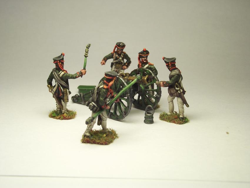 Figures: Russian artillery, 1812, photo #3