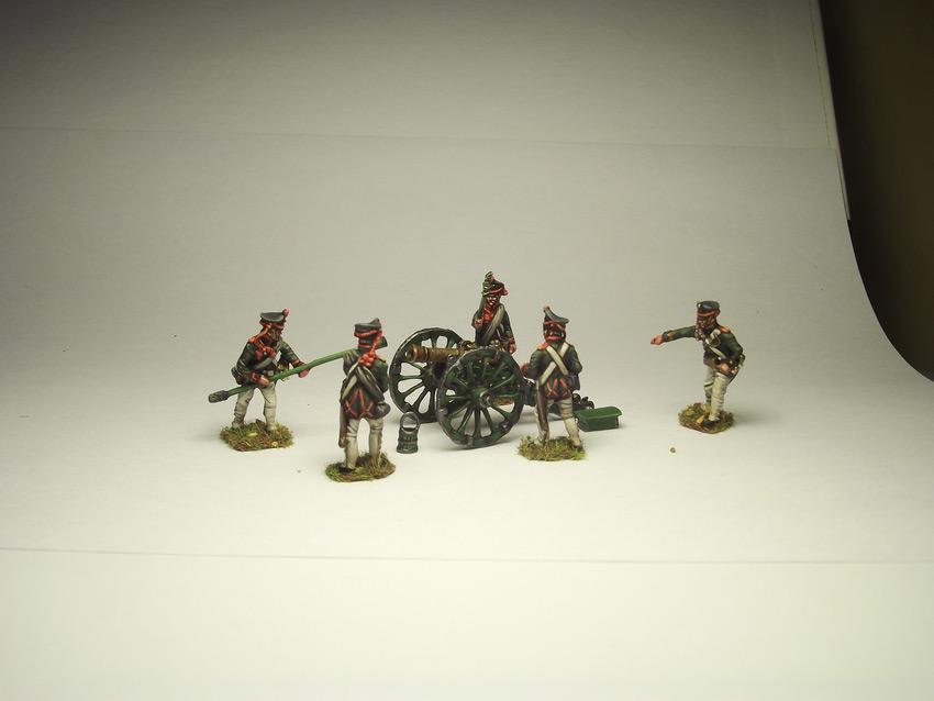 Figures: Russian artillery, 1812, photo #6