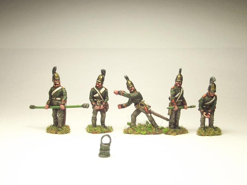Figures: Russian artillery, 1812, photo #7