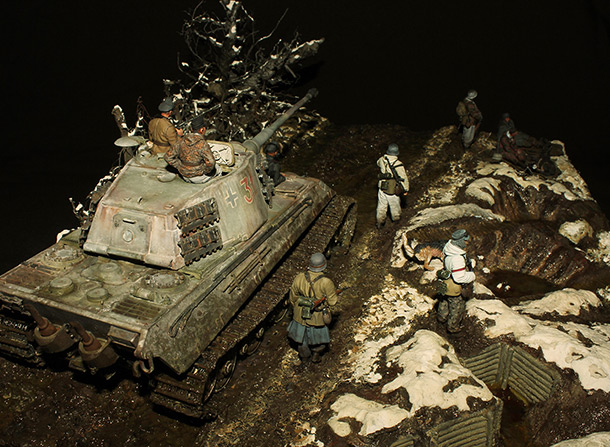 Dioramas and Vignettes: The Last Effort