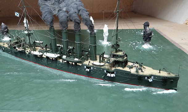 Dioramas and Vignettes: Battle of Chemulpo Bay