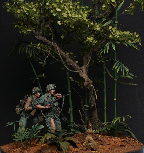 Dioramas and Vignettes: Bloody monkeys!