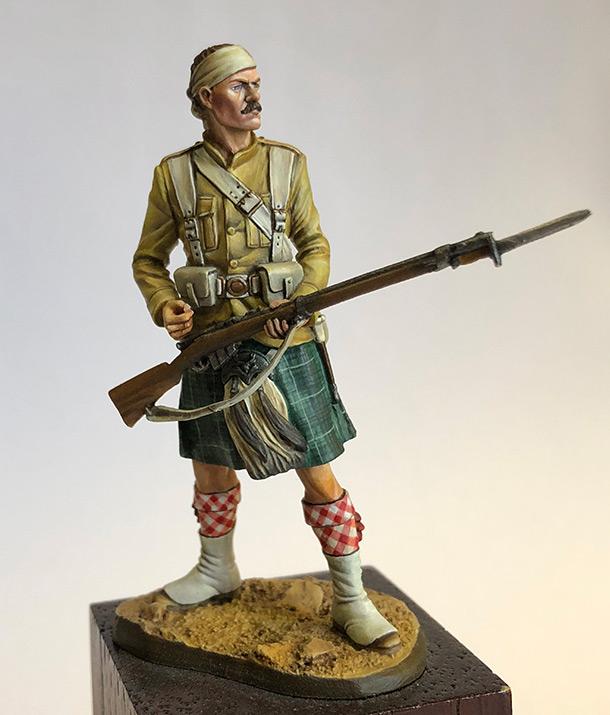 Figures: Private, 1st Battalion, Seaforth Regt.