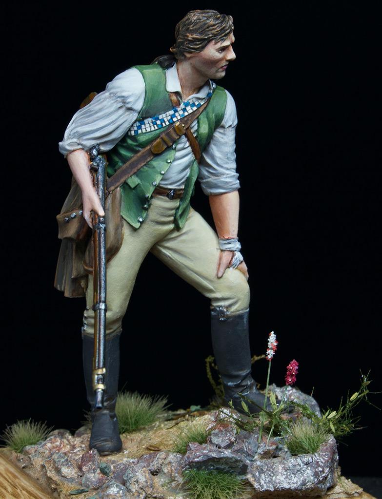 Figures: Minuteman at Lexington, photo #2