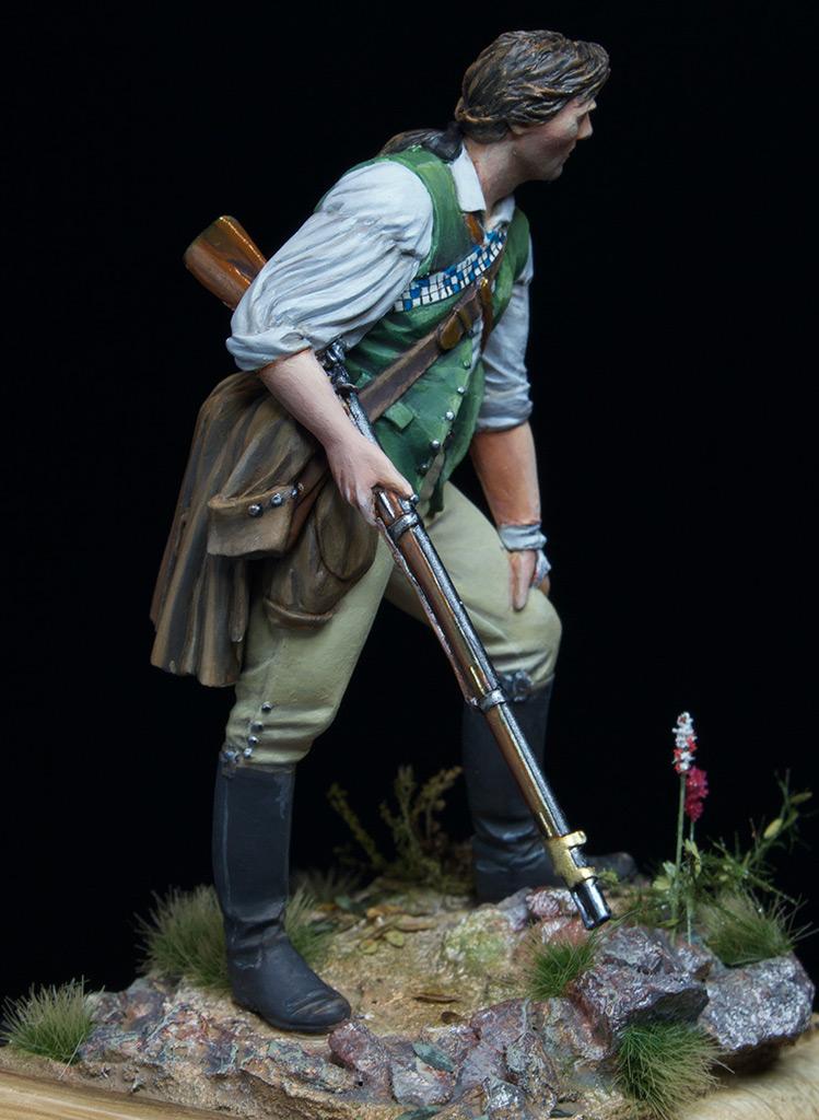 Figures: Minuteman at Lexington, photo #3