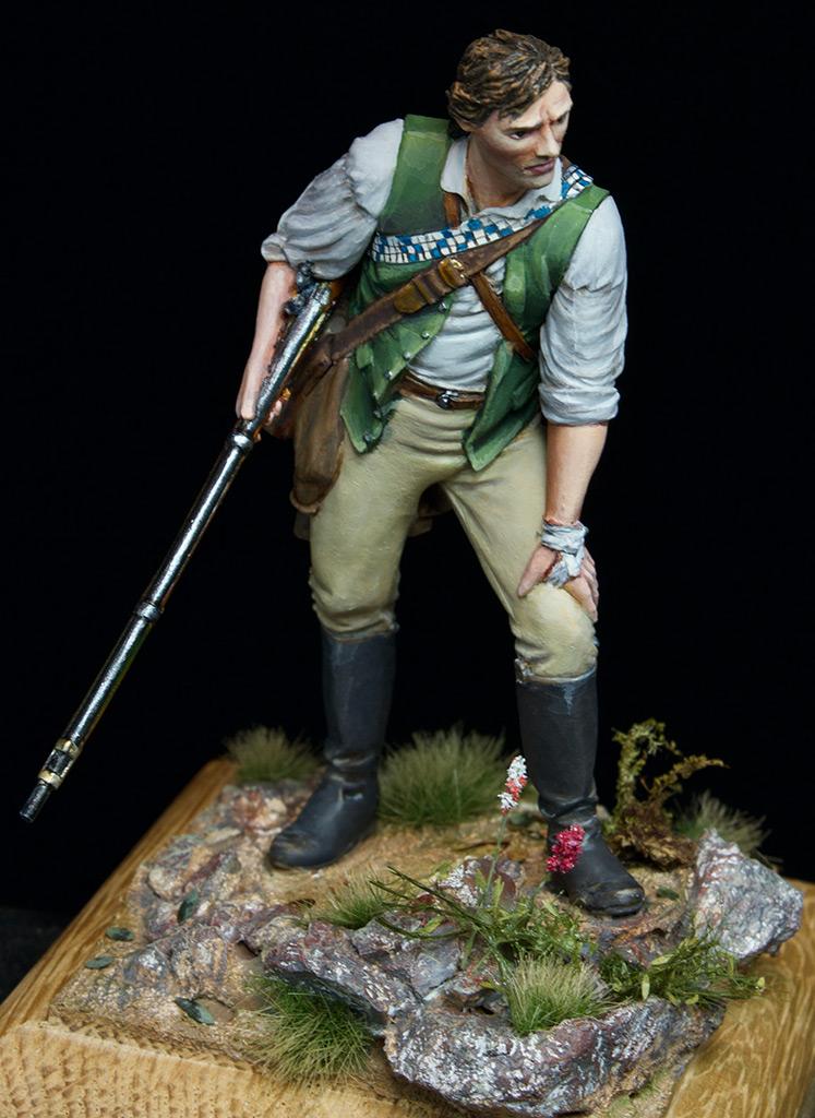 Figures: Minuteman at Lexington, photo #4