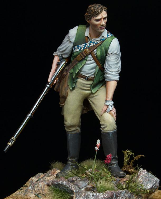 Figures: Minuteman at Lexington