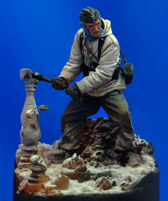 Figures: Wehrmacht 6th Army trooper, Stalingrad, photo #1