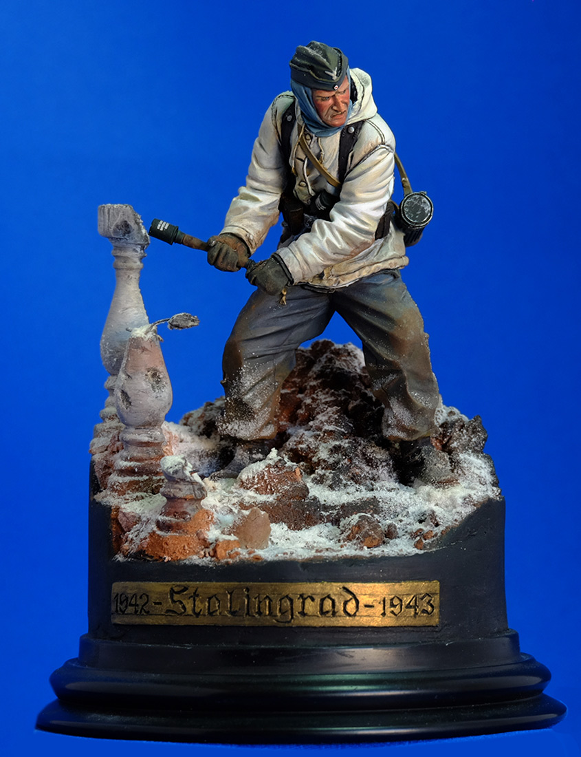 Figures: Wehrmacht 6th Army trooper, Stalingrad, photo #10