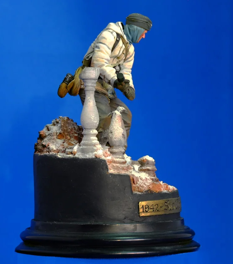 Figures: Wehrmacht 6th Army trooper, Stalingrad, photo #5
