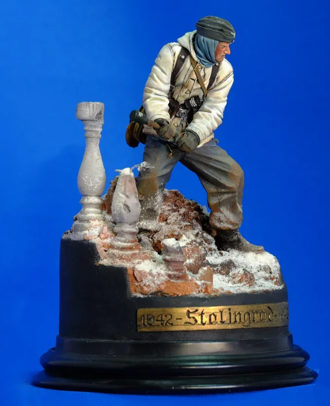 Figures: Wehrmacht 6th Army trooper, Stalingrad, photo #6