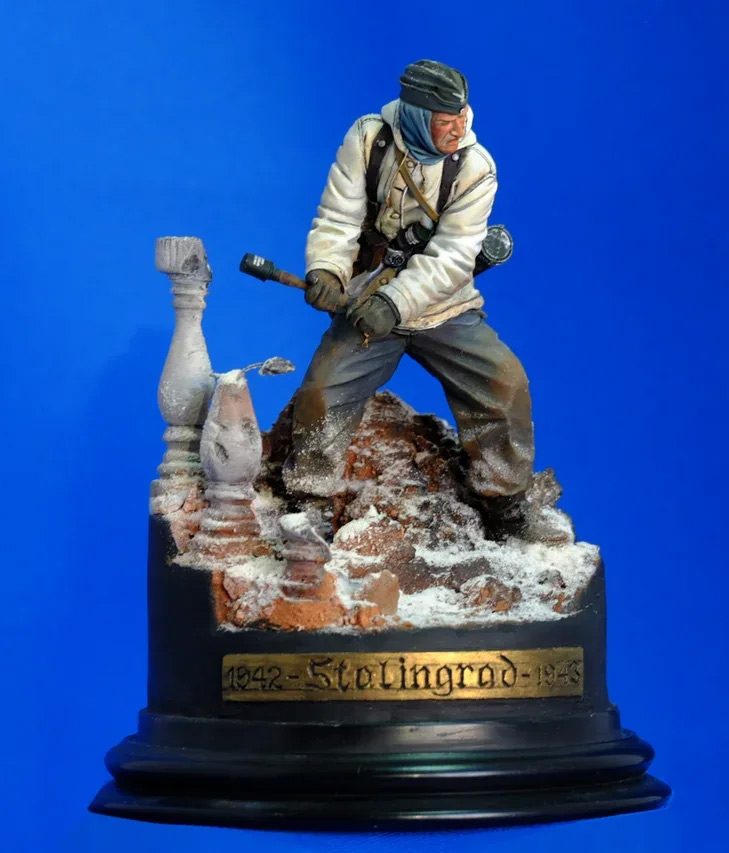 Figures: Wehrmacht 6th Army trooper, Stalingrad, photo #7