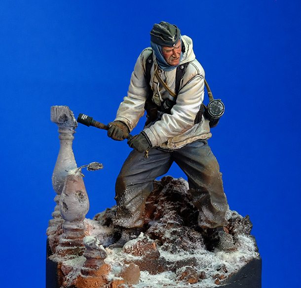 Figures: Wehrmacht 6th Army trooper, Stalingrad