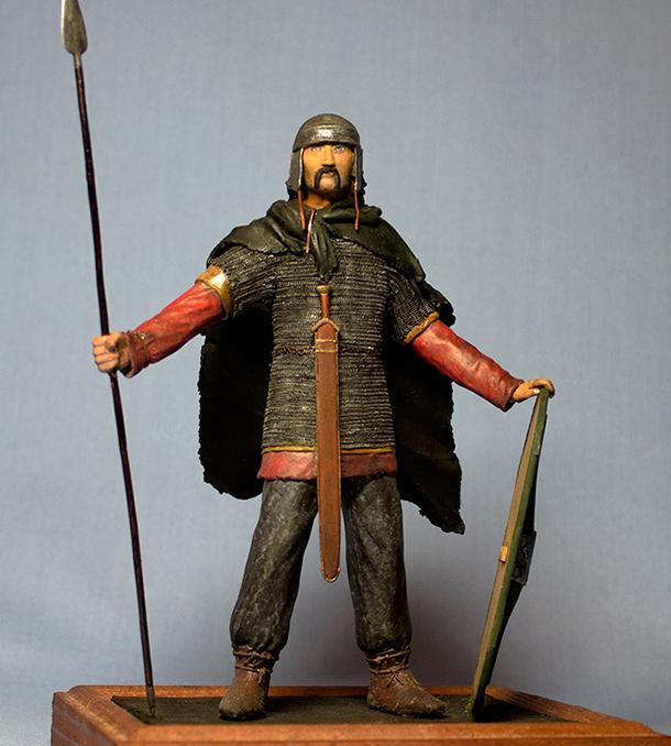 Sculpture: Noble Gallic warrior, I B.C.