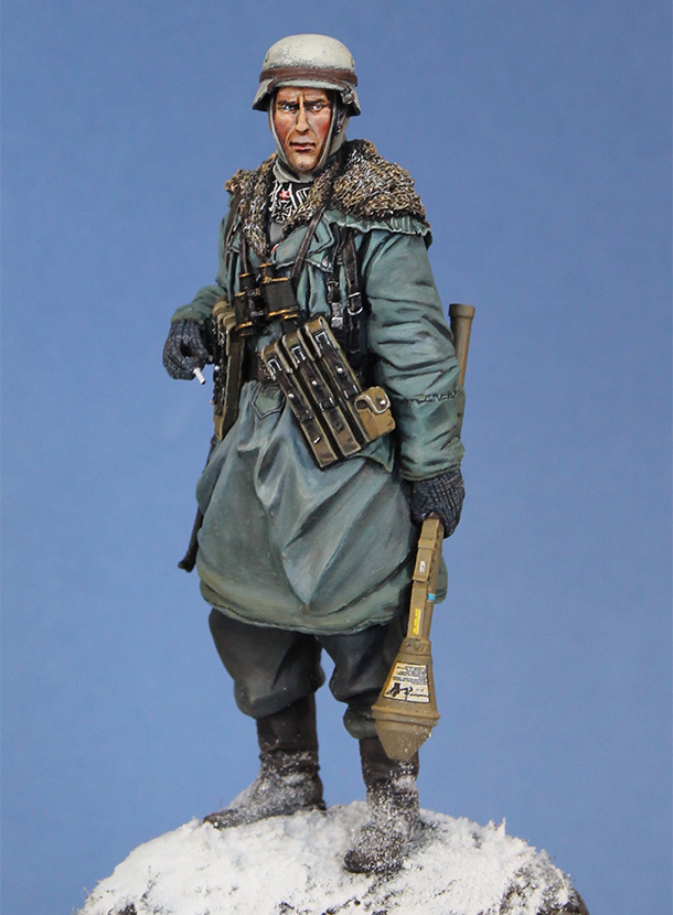 Figures: Scharfuehrer, Eastern front