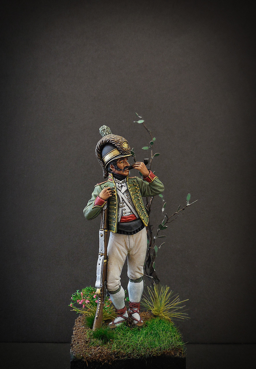 Figures: Private, Catalonian light infantry, Spain, 1807-08, photo #1