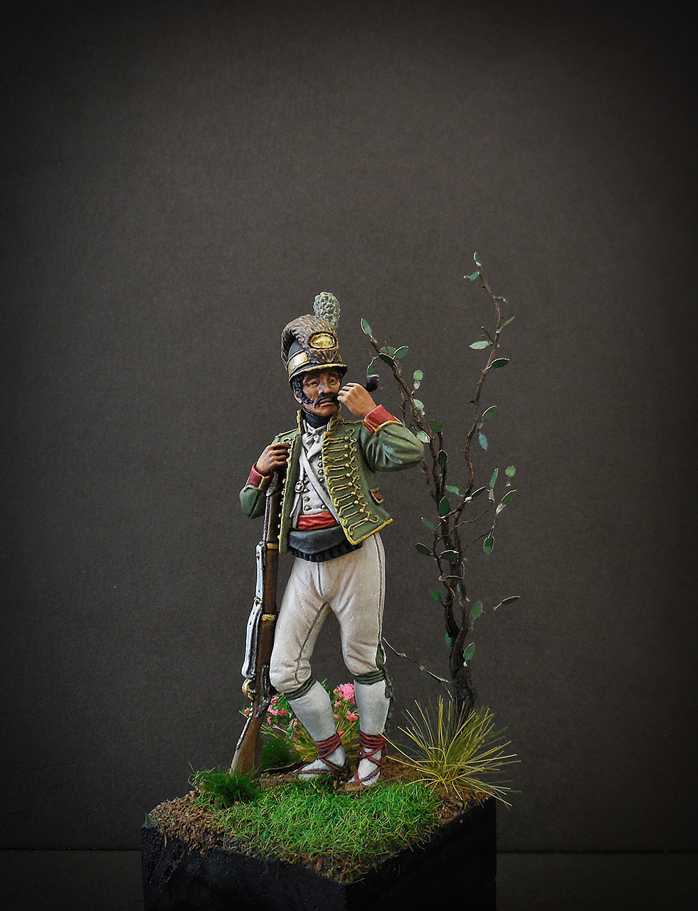 Figures: Private, Catalonian light infantry, Spain, 1807-08, photo #2