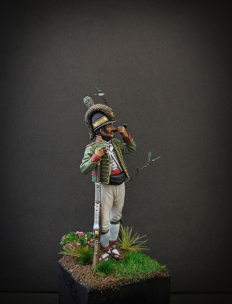 Figures: Private, Catalonian light infantry, Spain, 1807-08, photo #6
