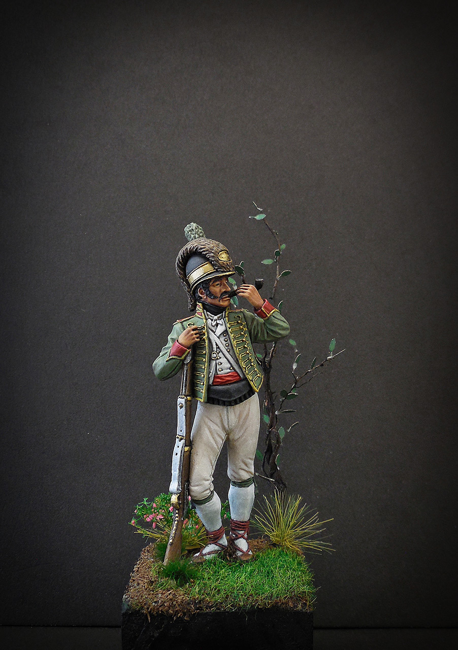 Figures: Private, Catalonian light infantry, Spain, 1807-08, photo #7