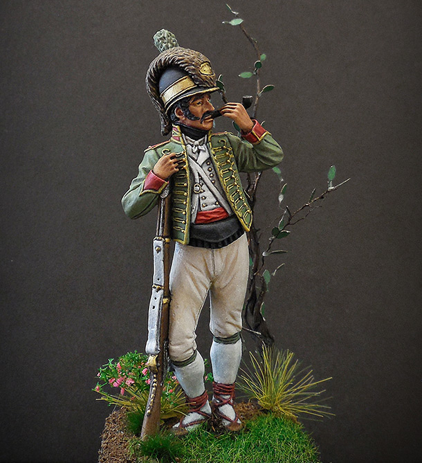 Figures: Private, Catalonian light infantry, Spain, 1807-08