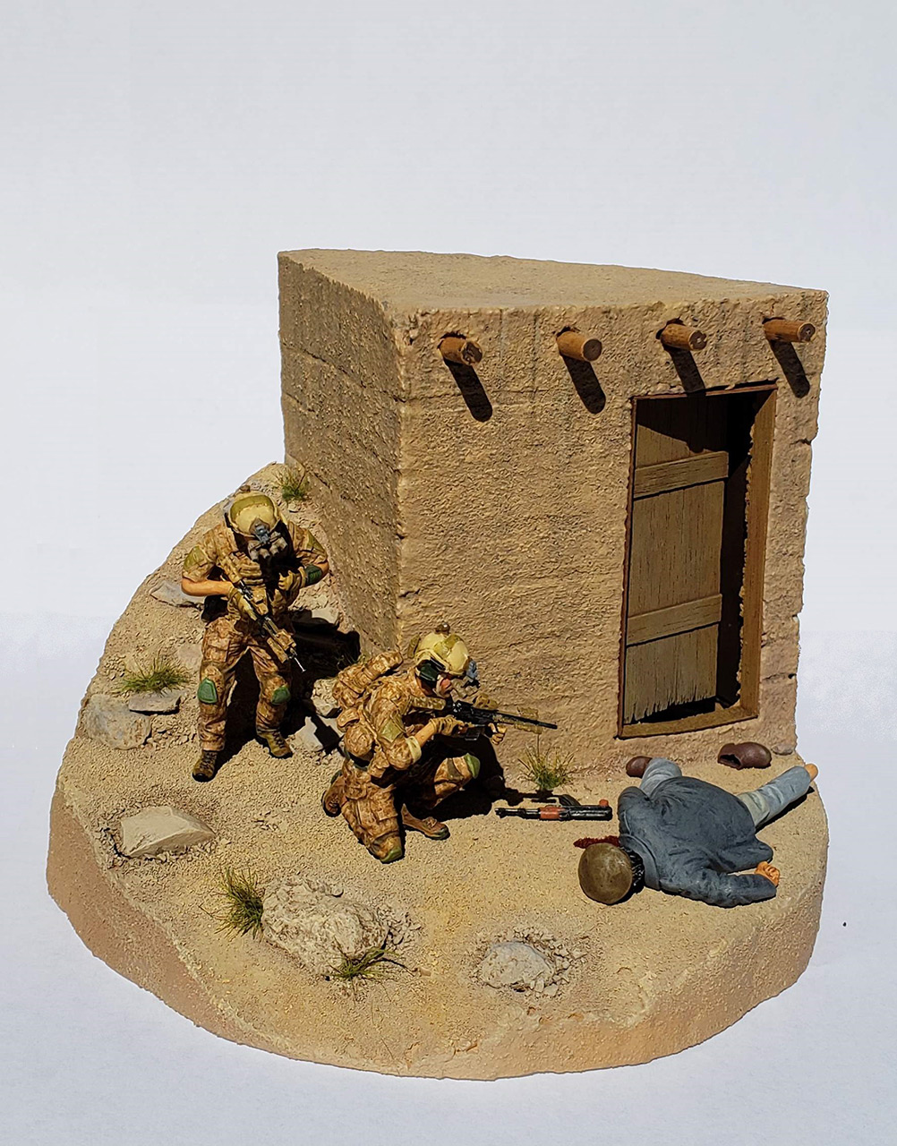 Dioramas and Vignettes: Navy Seals in Afghanistan, photo #2