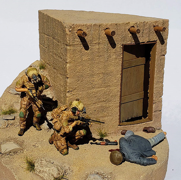 Dioramas and Vignettes: Navy Seals in Afghanistan
