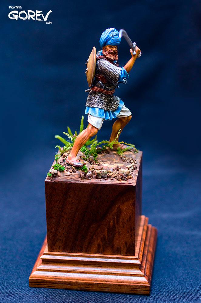 Figures: Akali Sikh warrior, India, XVII cent., photo #1